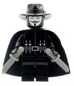 Anonymous (V for Vendetta) - Custom Designed Minifigure